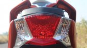 Honda Grazia first ride review tail light