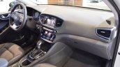 Hyundai Ioniq hybrid dashboard passenger side view at 2017 Dubai Motor Show