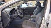 Hyundai Ioniq hybrid front seats at 2017 Dubai Motor Show