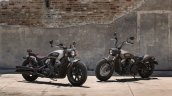 Indian Scout Bobber press shot with accessories