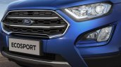 Indian-spec 2018 Ford EcoSport front fascia