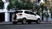 Indian-spec 2018 Ford EcoSport rear three quarters