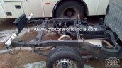 Isuzu D-Max Spark spied chassis