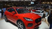 Jaguar E-Pace First Edition front three quarters right side at 2017 Dubai Motor Show