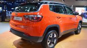 Jeep Compass Trailhawk rear three quarters at 2017 Dubai Motor Show