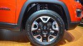 Jeep Compass Trailhawk wheel at 2017 Dubai Motor Show