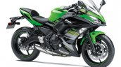 Kawasaki Ninja 650 KRT Edition press shot front right quarter