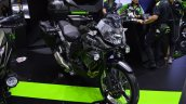 Kawasaki Versys-X 300 Camo Edition front right quarter at 2017 Thai Motor Expo