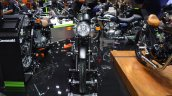 Kawasaki W175 SE front at 2017 Thai Motor Expo