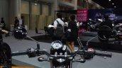 Kawasaki W175 SE handlebars at 2017 Thai Motor Expo