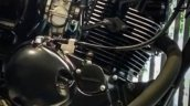 Kawasaki W175 SE spotted at dealership engine