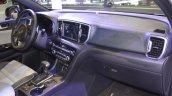 Kia Sportage dashboard passenger side view at 2017 Dubai Motor Show