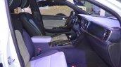 Kia Sportage front seats passenger side view at 2017 Dubai Motor Show