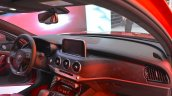 Kia Stinger GT dashboard passenger side view at the 2017 Dubai Motor Show