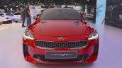 Kia Stinger GT front at the 2017 Dubai Motor Show
