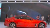 Kia Stinger GT profile at the 2017 Dubai Motor Show