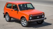 Lada 4x4 (Lada Niva) 3-door front three quarters