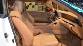 Lexus Fluidity of Hybrid Electric concept front seats left side at 2017 Dubai Motor Show