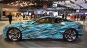 Lexus Fluidity of Hybrid Electric concept left side at 2017 Dubai Motor Show
