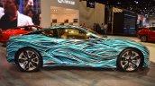 Lexus Fluidity of Hybrid Electric concept profile at 2017 Dubai Motor Show