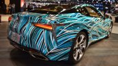 Lexus Fluidity of Hybrid Electric concept rear three quarters at 2017 Dubai Motor Show