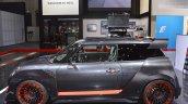 MINI John Cooper Works GP Concept profile at 2017 Dubai Motor Show