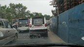 Mahindra Jeeto Minivan CNG variant rear