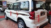 Mahindra Scorpio 2017 facelift rear three quarters