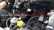 Mahindra TUV300 Plus engine spy shot