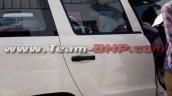 Mahindra TUV300 Plus right side spy shot