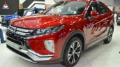 Mitsubishi Eclipse Cross front three quarters left side at 2017 Dubai Motor Show