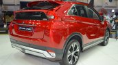 Mitsubishi Eclipse Cross rear three quarters at 2017 Dubai Motor Show