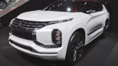 Mitsubishi Ground Tourer PHEV Concept at Thai Motor Expo 2017 front three quarters view