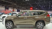 Mitsubishi Montero Sport profile at the 2017 Dubai Motor Show