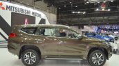 Mitsubishi Montero Sport right side at the 2017 Dubai Motor Show