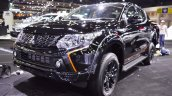 Mitsubishi Triton Athlete at 2017 Thai Motor Expo black front angle