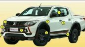 Mitsubishi Triton Athlete special edition front angle