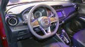 Nissan Kicks at Dubai Motor Show 2017 dashboard