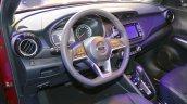Nissan Kicks at Dubai Motor Show 2017 dashboard
