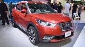 Nissan Kicks at Dubai Motor Show 2017 front three quarters
