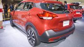 Nissan Kicks at Dubai Motor Show 2017 left rear three quarters