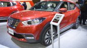 Nissan Kicks at Dubai Motor Show 2017 three quarters