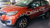 Renault Captur front three quarters India dealership