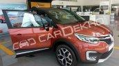 Renault Captur front three quarters right side India dealership