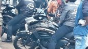 Suzuki Intruder 150 spotted headlight and tank