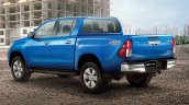 Toyota hilux Revo facelift double cab rear three quarters