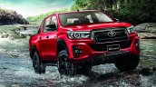 Toyota hilux Revo facelift rocco front