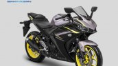 Updated Yamaha YZF-R25 press Grey