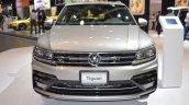 VW Tiguan R-Line front at 2017 Dubai Motor Show