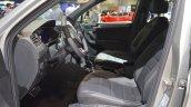 VW Tiguan R-Line front seats at 2017 Dubai Motor Show